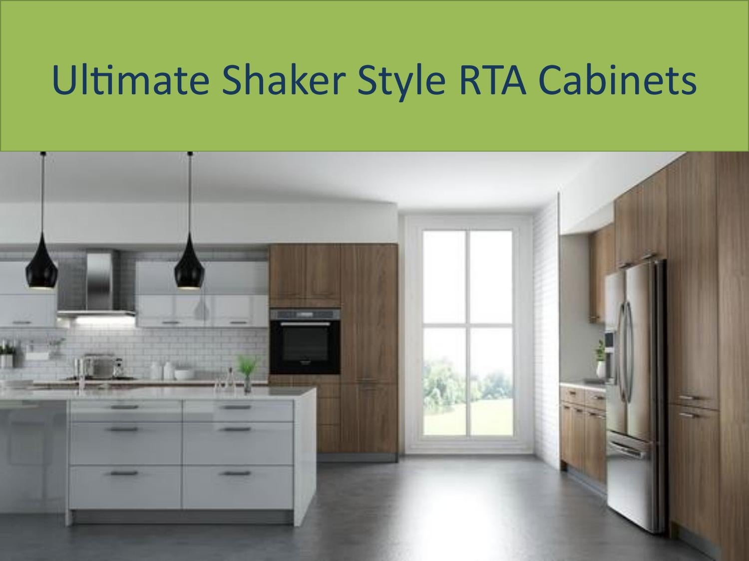 Ultimate Shaker Style Rta Cabinets By Cabinsalecenter Issuu