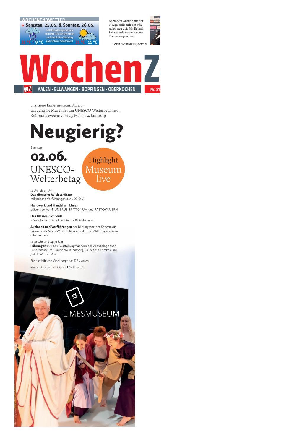 WochenZeitung Aalen KW 21.19 by WochenZeitung