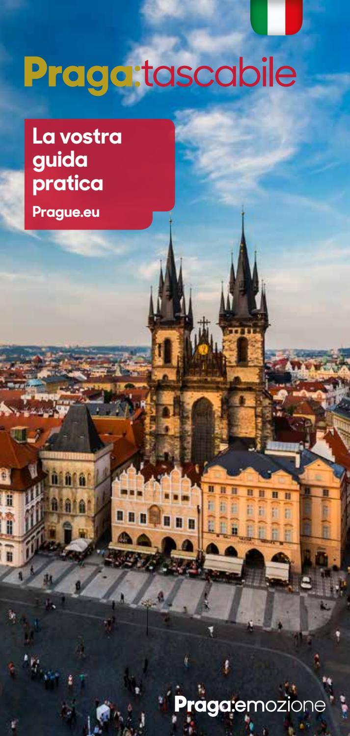 Praga Tascabile By Prague Eu Issuu