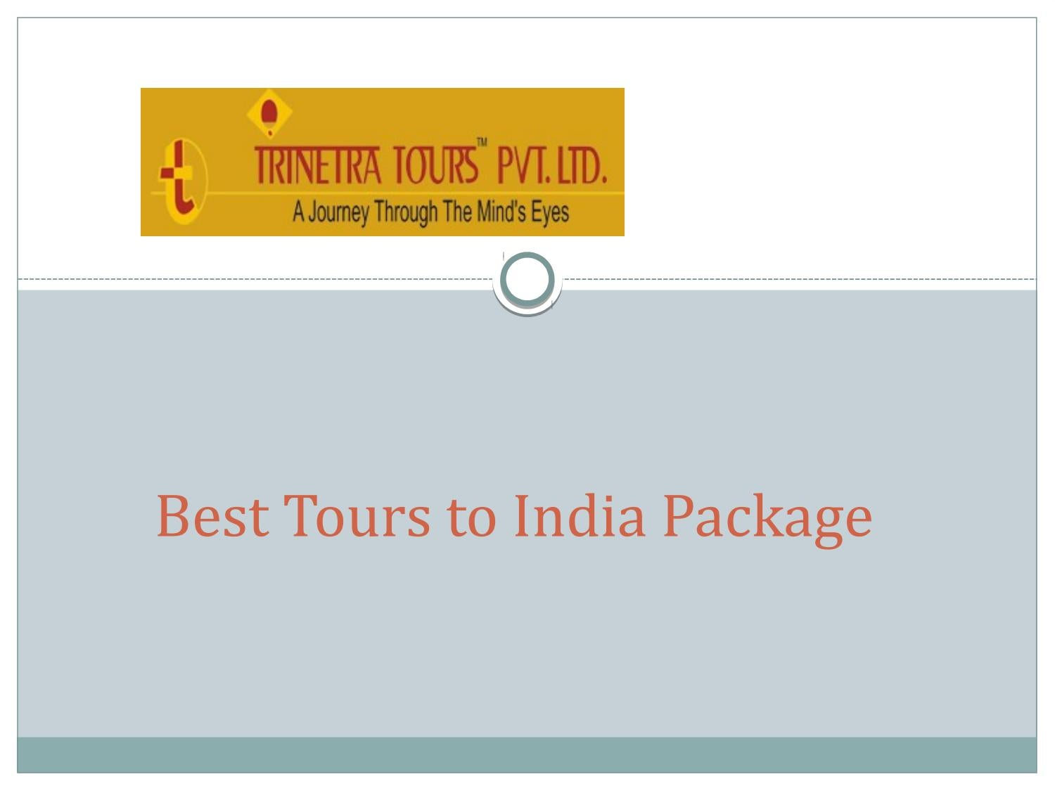 Package Tours to India