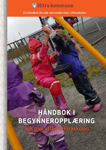12d36577 Håndbok i begynneropplæring - Slik gjør vi det i Hitraskolen by ...