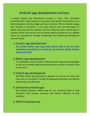 mobile app development service company by jitendra kumar - issuu