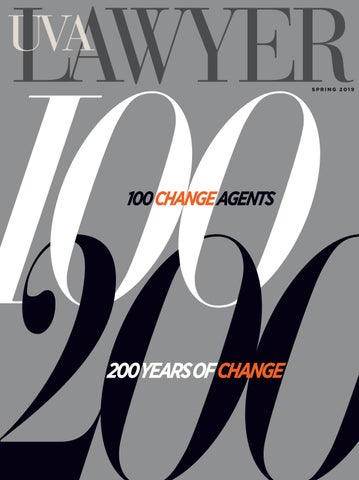 8b1b8073 UVA Lawyer, Spring 2019 by University of Virginia School of Law - issuu