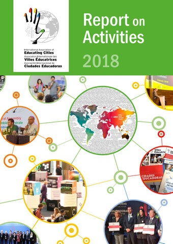 Report On Activities 2018 By International Association Of