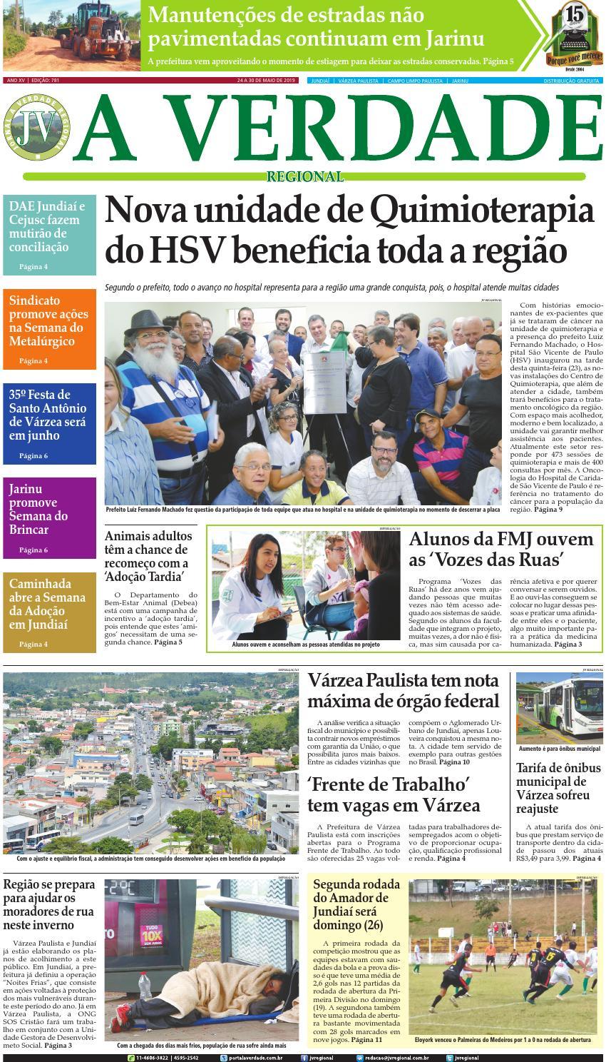 899a04011 JV Regional ® - Edição 781 by Jornal A Verdade Regional - issuu