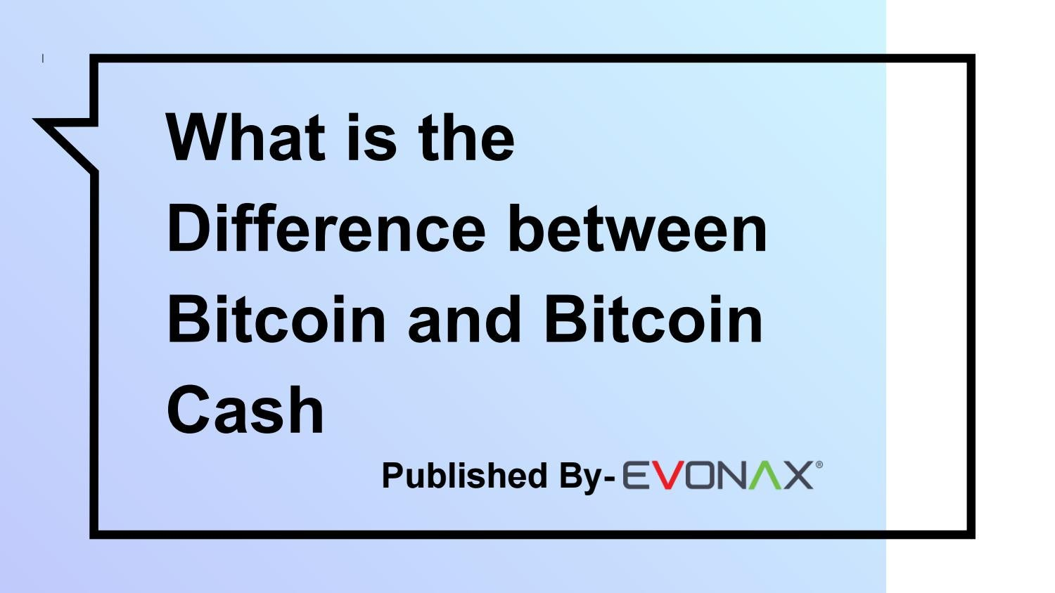 difference between bitcoin and shares