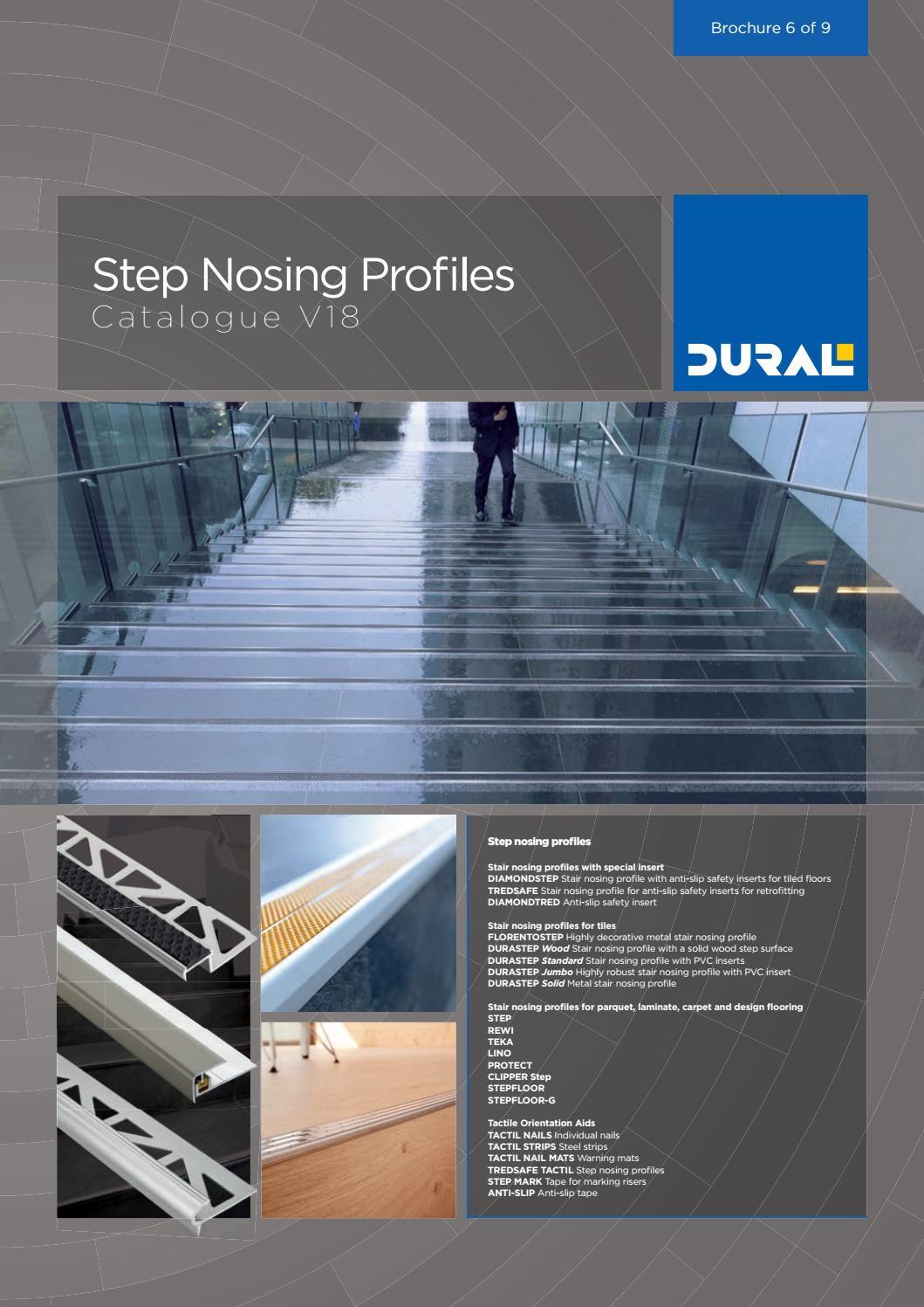 Step Nosing Profiles - Catalogue V18