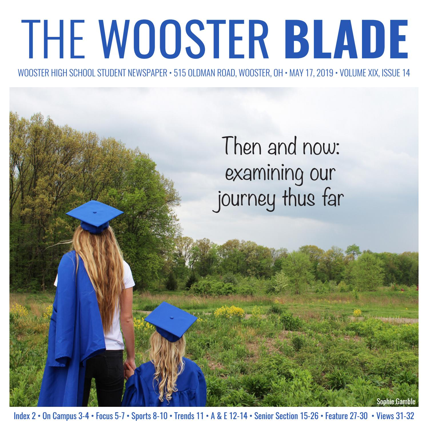 The Wooster Blade, Volume XIX, Issue 14 by The Wooster Blade