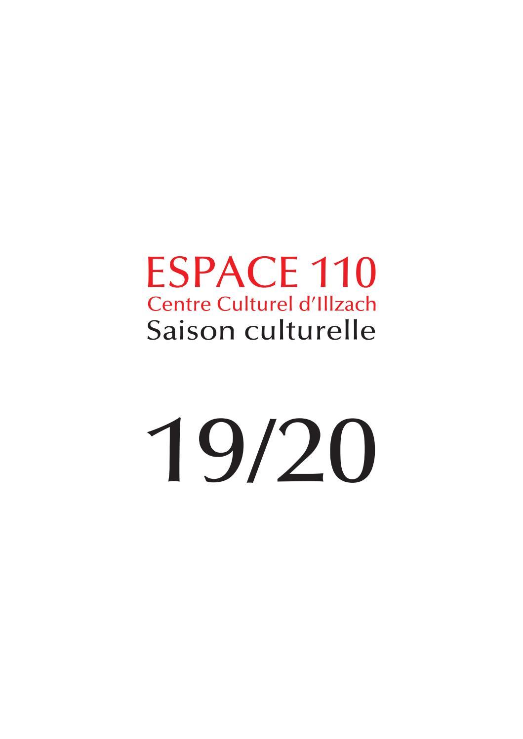 Saison culturelle 2019   2020 de l'Espace 110   Centre Culturel d