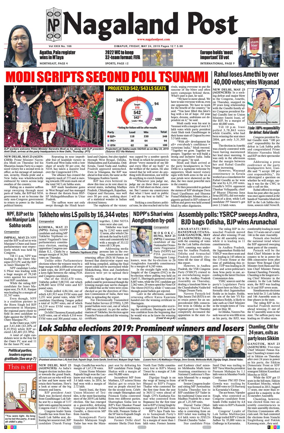 May 24, 2019 by Nagaland Post - issuu