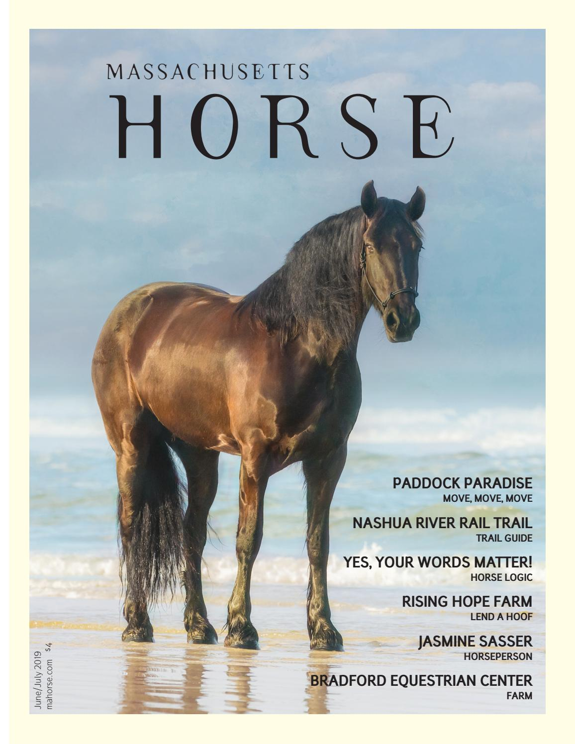 Massachusetts Horse June July 2019 By Community Horse Media Issuu