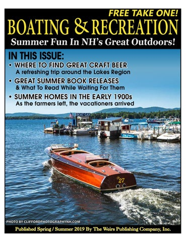2019 Boating & Recreation Guide by The Weirs Publishing