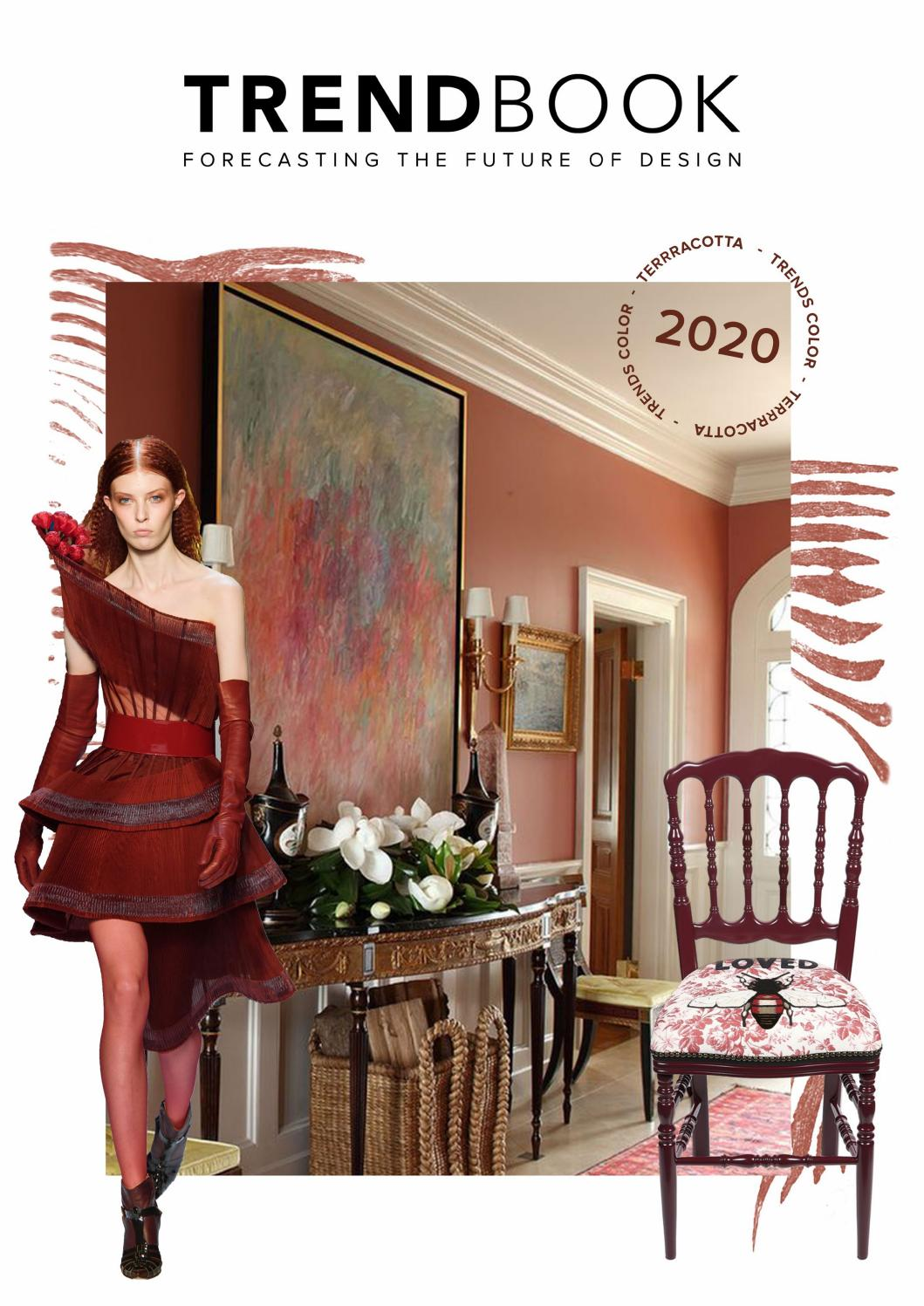 Color Trends 2020 TERRACOTTA by Trend Design Book , issuu