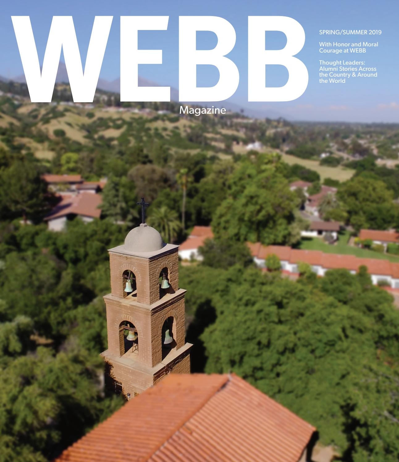 WEBB Magazine Spring Summer 2019 by The Webb Schools - issuu