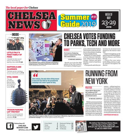 Chelsea News - May 23, 2019 by Chelsea News NY - issuu