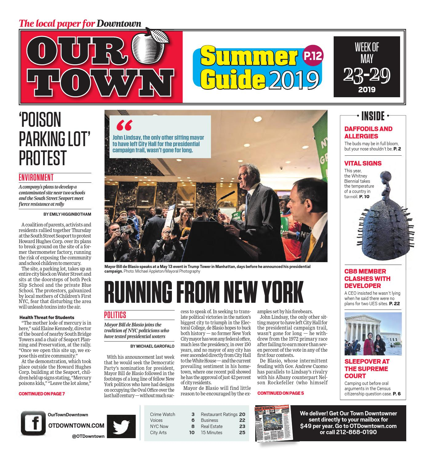 Our Town Downtown - May 23, 2019 by OurTown Downtown - issuu