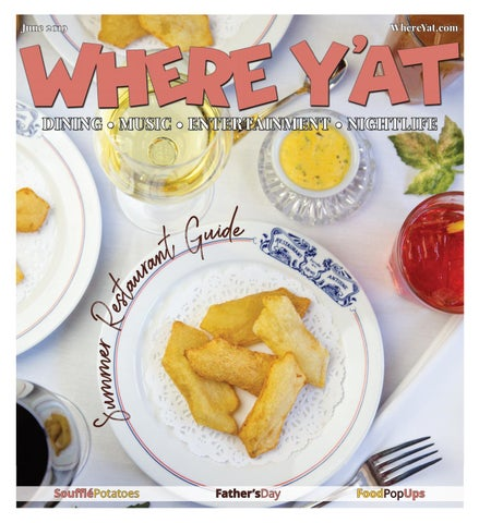 Summer Restaurant Guide 2019 by Where Y'at Magazine - issuu
