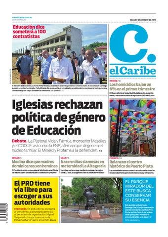 6d1bc3d33521 www.elcaribe.com.do SÁBADO 25 DE MAYO DE 2019