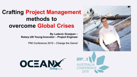 Crafting Project Management Methods to Overcome Global