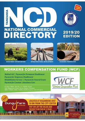Tanzania National Commercial Directory Issue 002 - 2019 -2020 by NCD