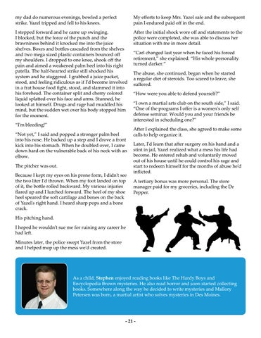 Page 21 of Orange Belt Opportunities, Part Two by Stephen Brayton