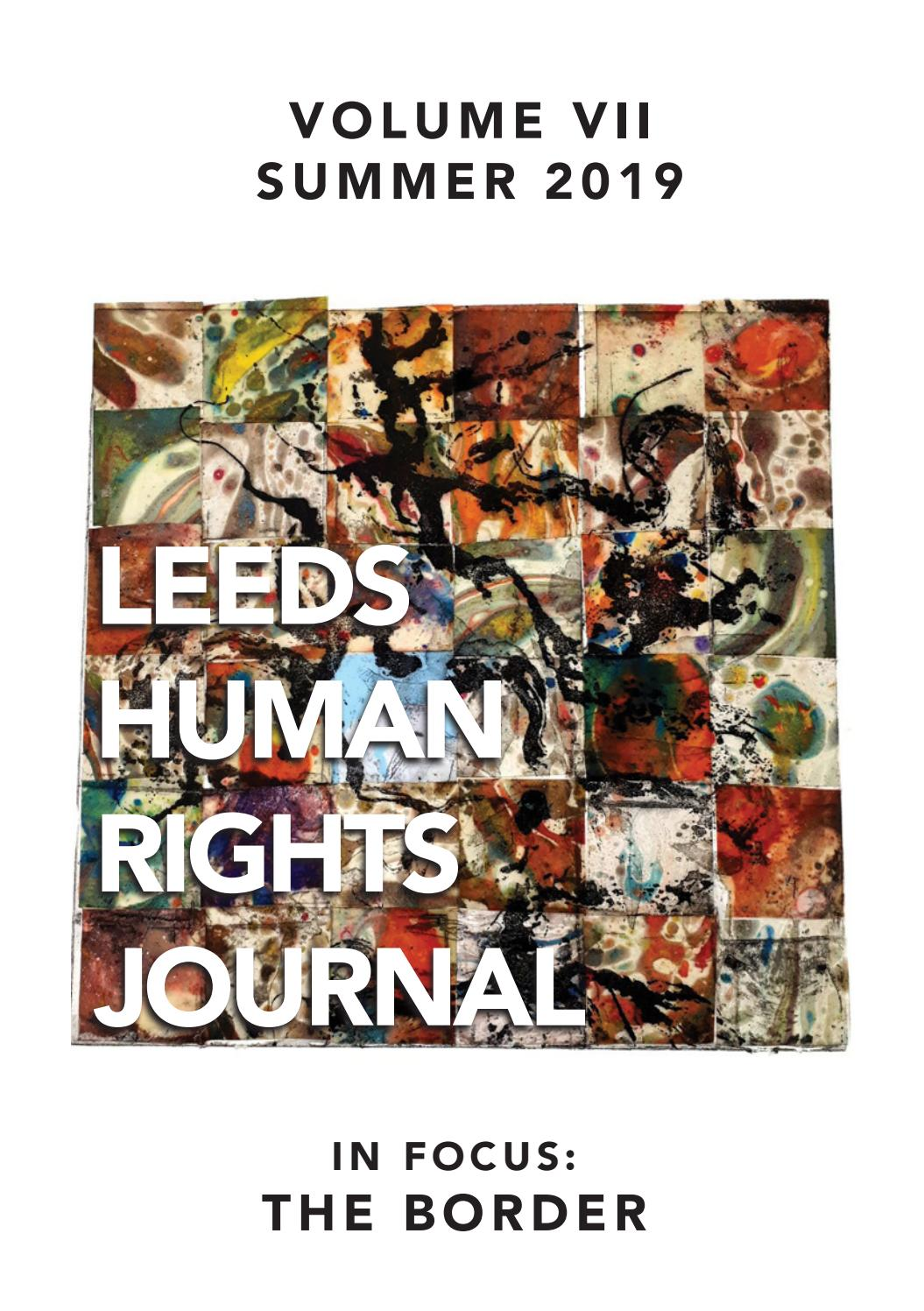 Avis Sur Le Site Home24 university of leeds human rights journal - volume 7, issue 1