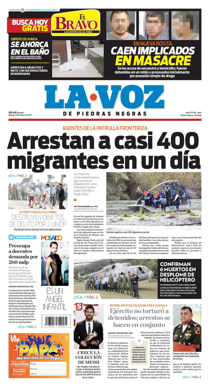 Del Negras De 25 Voz Edición La Mayo Día Piedras Impresa y08PmOvnNw
