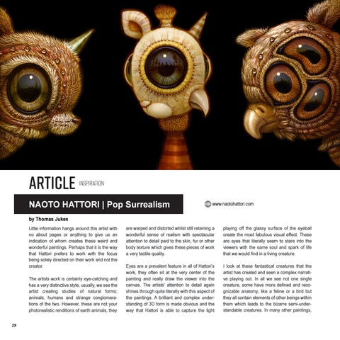 Page 30 of NAOTO HATTORI | POP SURREALISM