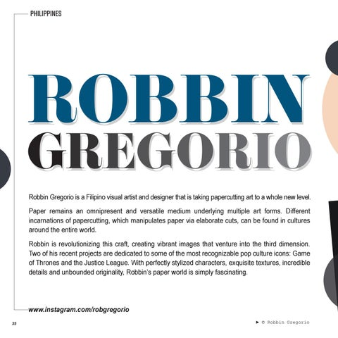 Page 36 of FEATURED | ROBBIN GREGORIO