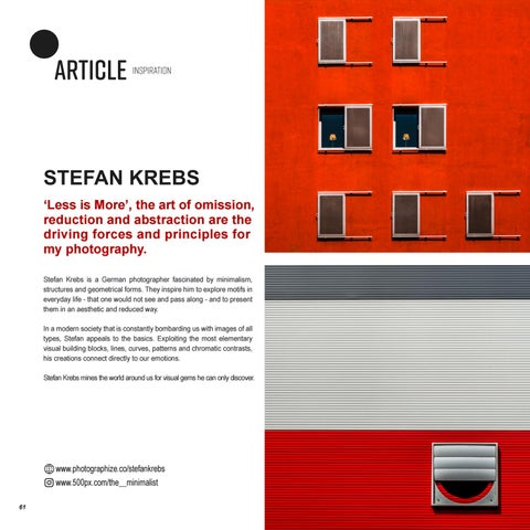 Page 62 of INSPIRATION | STEFAN KREBS