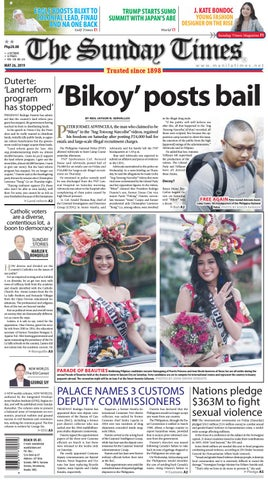 6b572ce21 The Manila Times | May 26, 2019 by The Manila Times - issuu