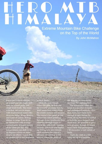 Adventure Issue: Thrills from the Himalayas to Papua New Guinea by