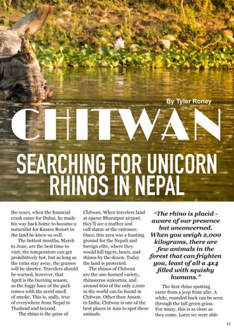 Page 35 of Chitwan: Searching for Unicorn Rhinos in Nepal