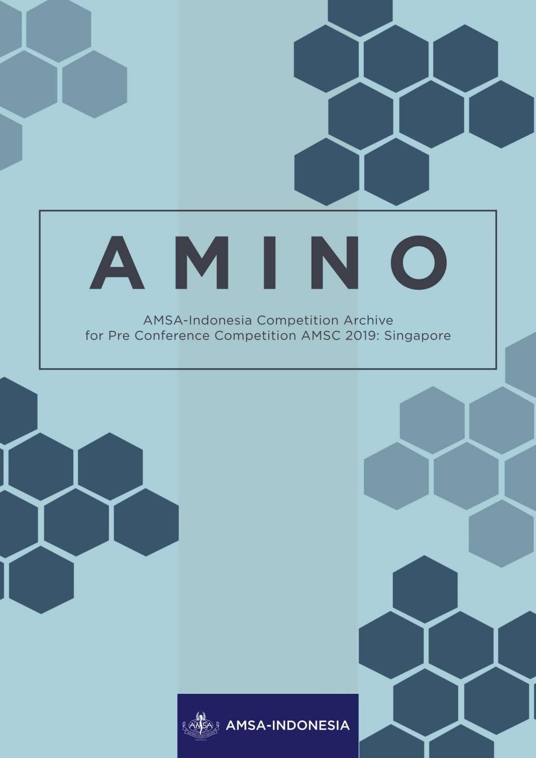AMINO PCC AMSC 2019: Singapore by AMSA-Indonesia - issuu