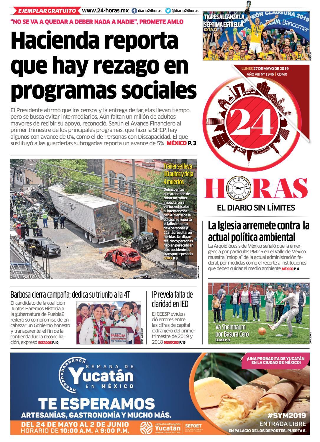 6797704ec 27 | Mayo | 2019 by Información Integral 24/7 SAPI de C.V. - issuu