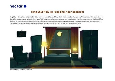 Feng Shui Your Bedroom By Nectarsleepuk