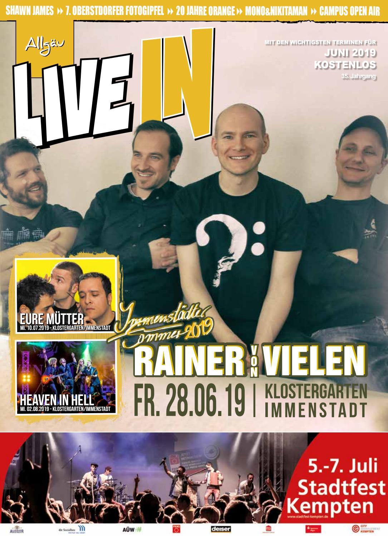 Allgäu LIVE IN (06 2019) by Live In Verlag - issuu