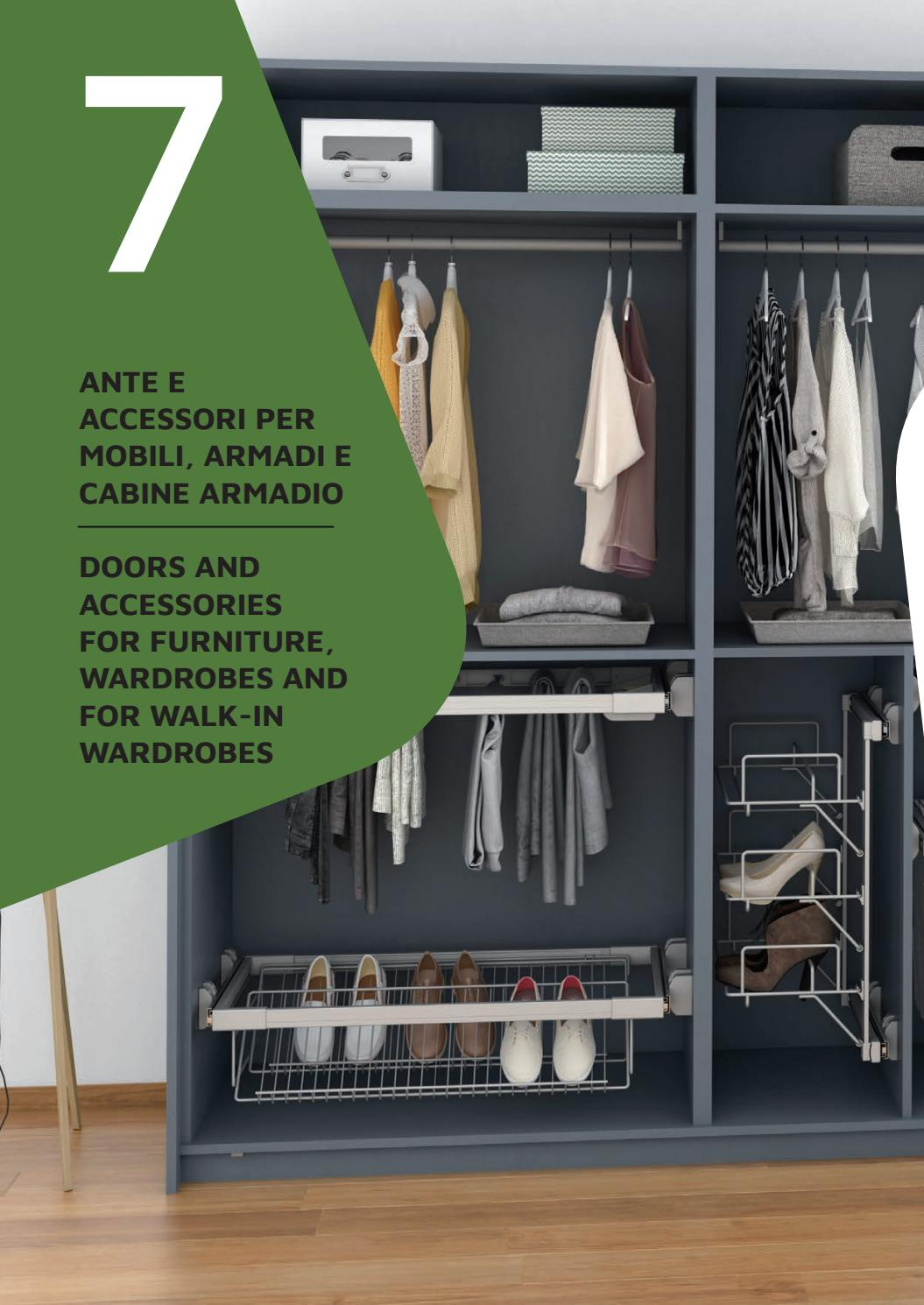Accessori Per Armadi Guardaroba.Accessori Per Armadi E Cabine Armadio Accessories For Wardrobes And For Walk In Wardrobes By Emuca Issuu