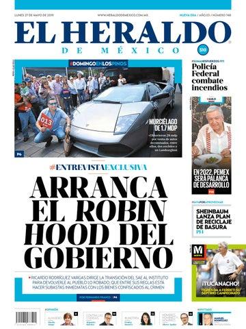 3c2303f68 Lunes 27 de mayo de 2019 by El Heraldo de México - issuu