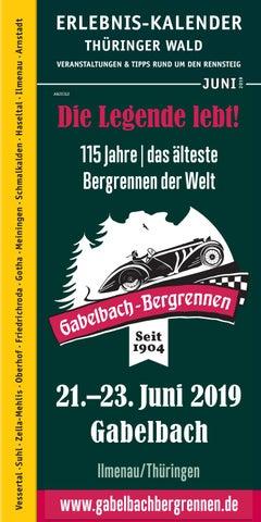 Erlebnis Kalender Thüringer Wald Juni 2019 By Tips Issuu