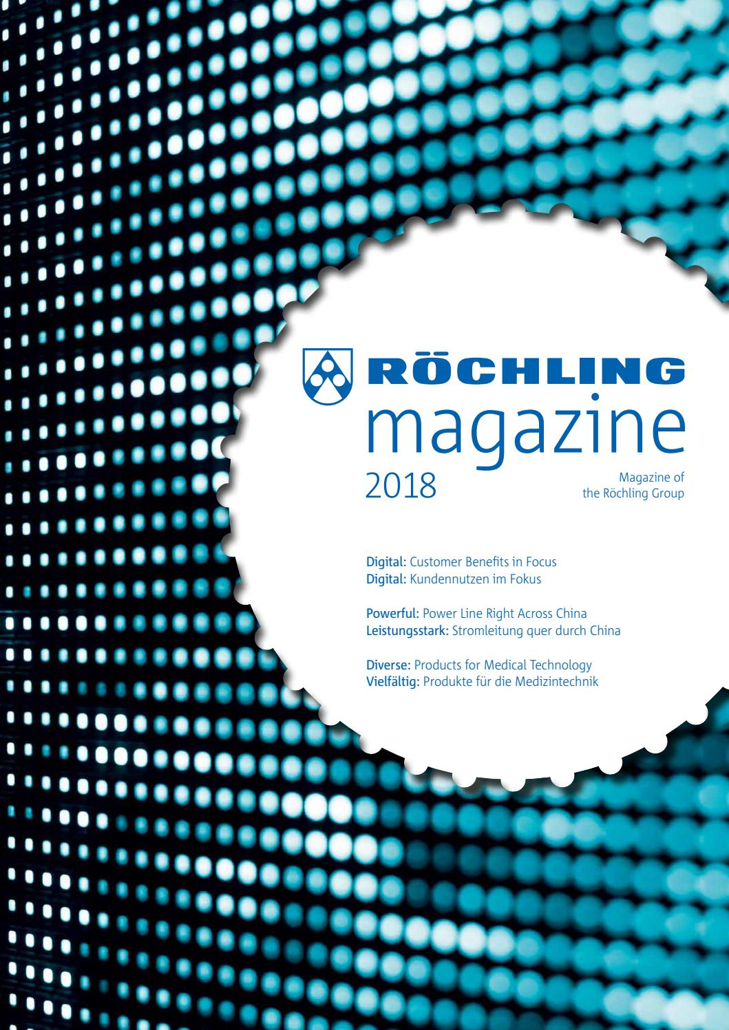 Roechling magazine 20 by Röchling   issuu