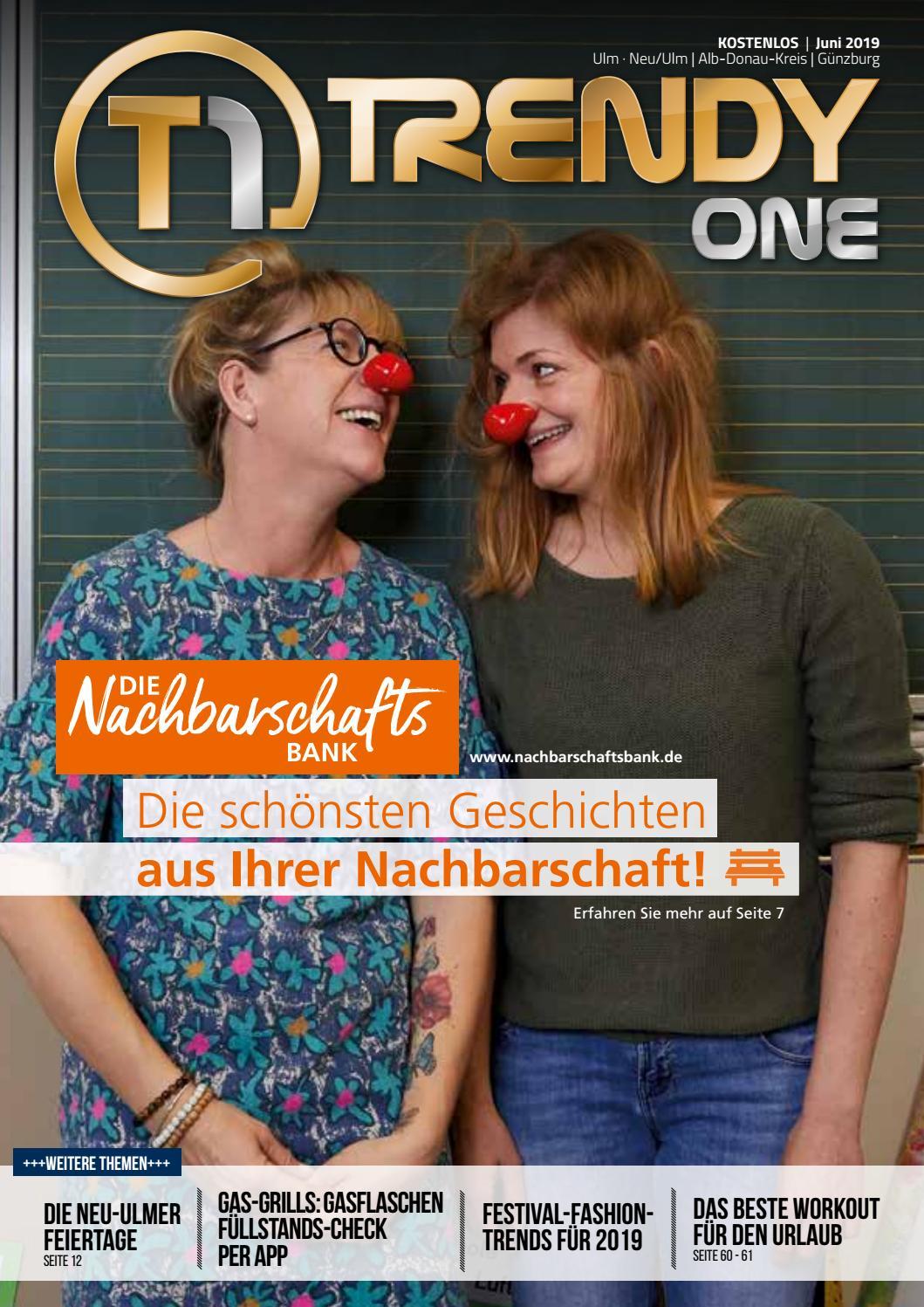 Trendyone Das Magazin Ulm Juni 2019 By Ad Can Do Gmbh