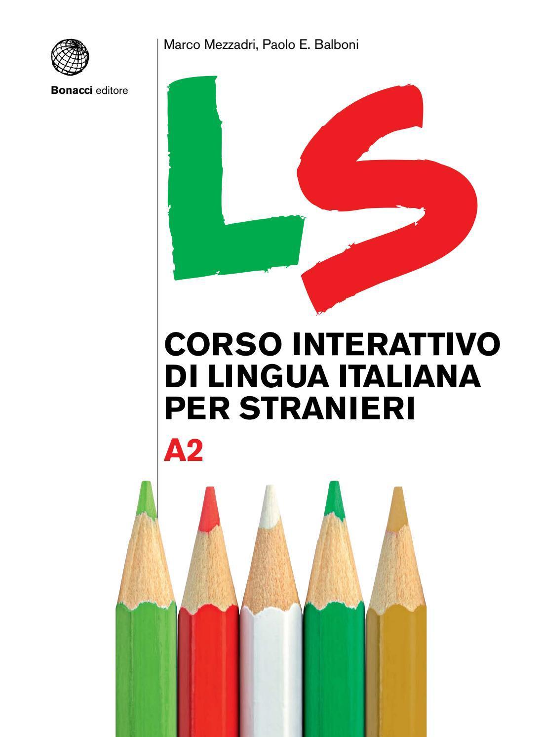 Ls Corso Interattivo Di Lingua Italiana Per Stranieri By Loescher Editore Issuu