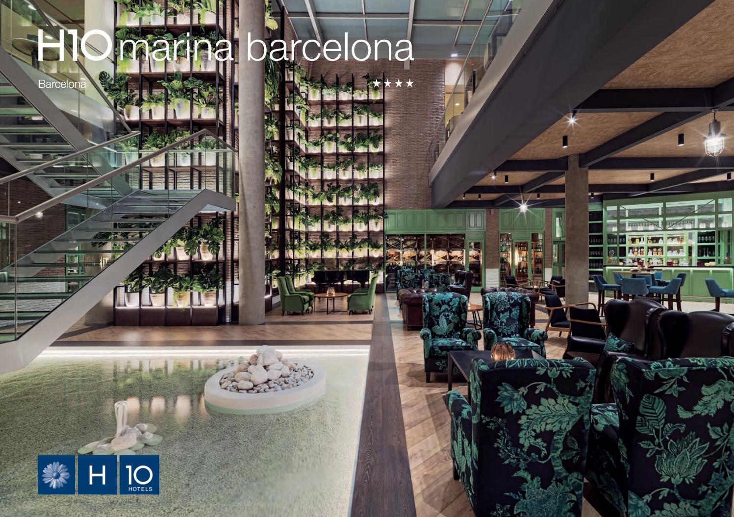 H10 Marina Barcelona By H10 Hotels Issuu