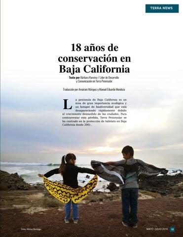 Page 11 of 18 años de conservación en Baja California