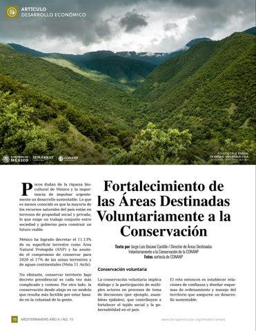 Page 16 of Fortalecimiento de las Áreas Destinadas Voluntariamente a la Conservación