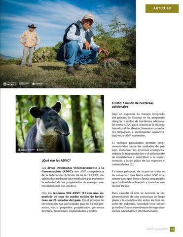 Page 17 of Fortalecimiento de las Áreas Destinadas Voluntariamente a la Conservación