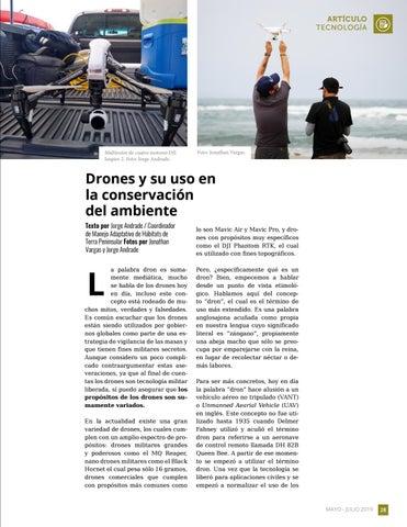 Page 29 of Drones y su uso en la conservación del ambiente