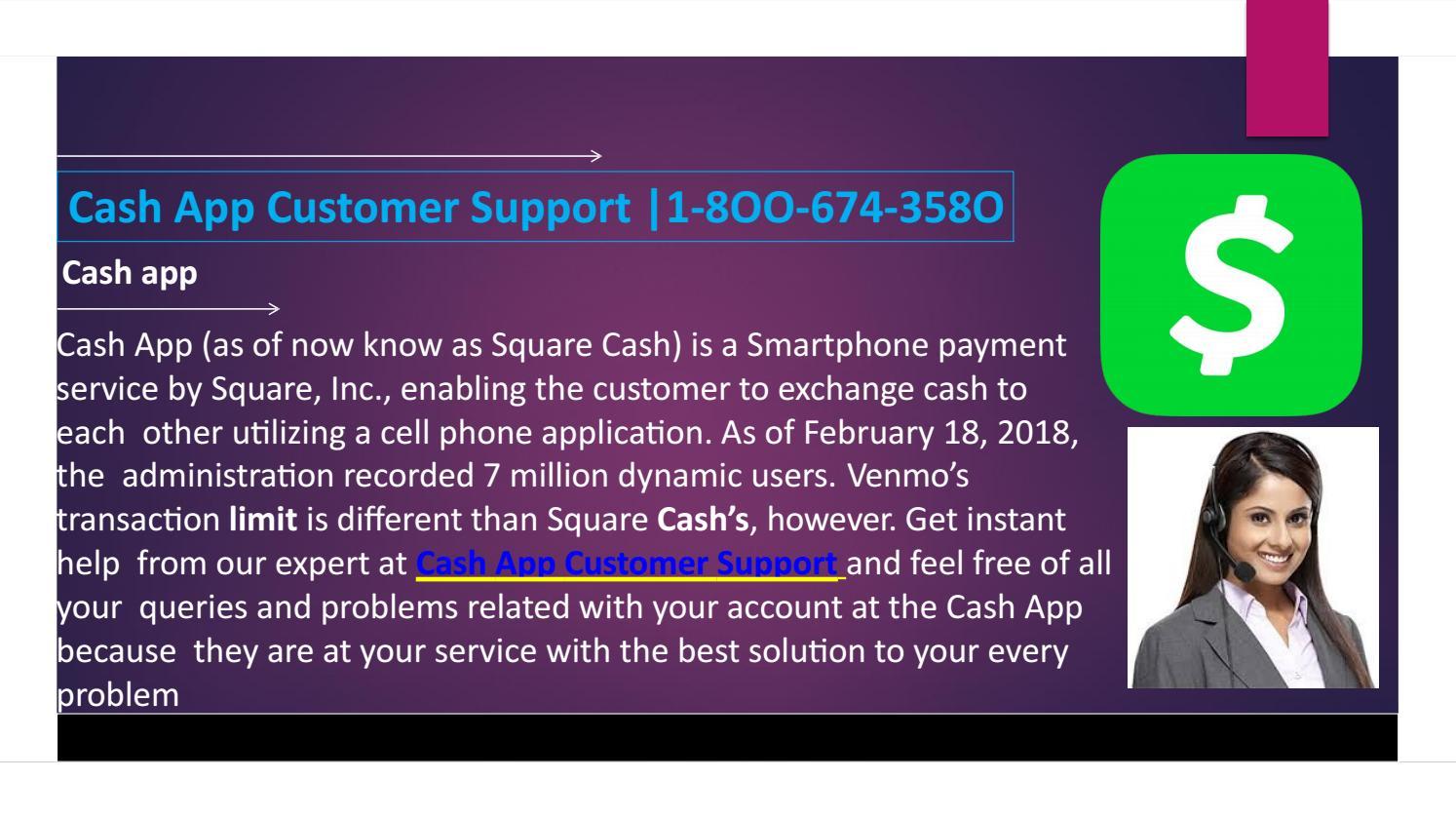 cash app support 1800 number