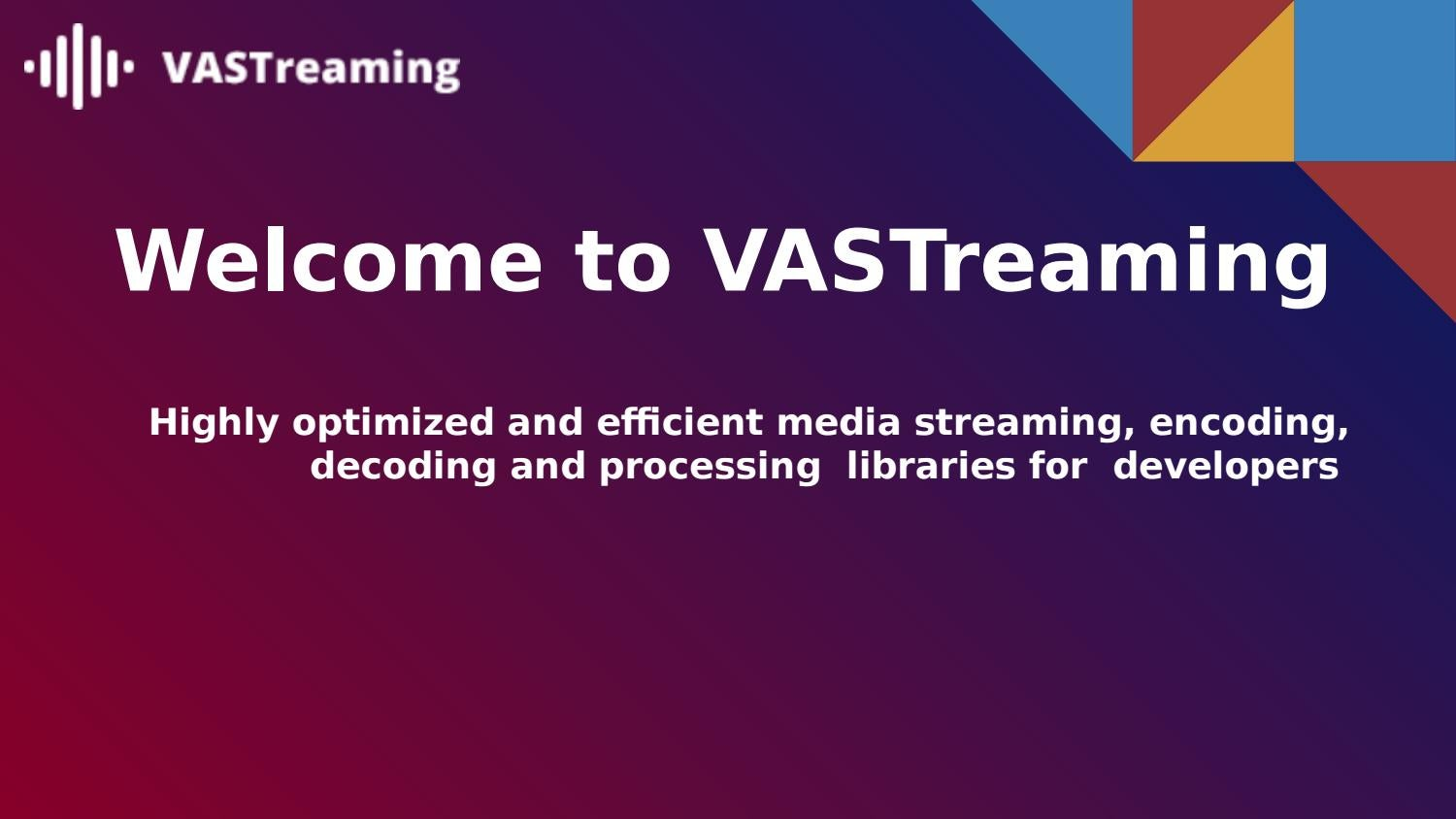 Android RTMP Streaming Libraries | VASTreaming by